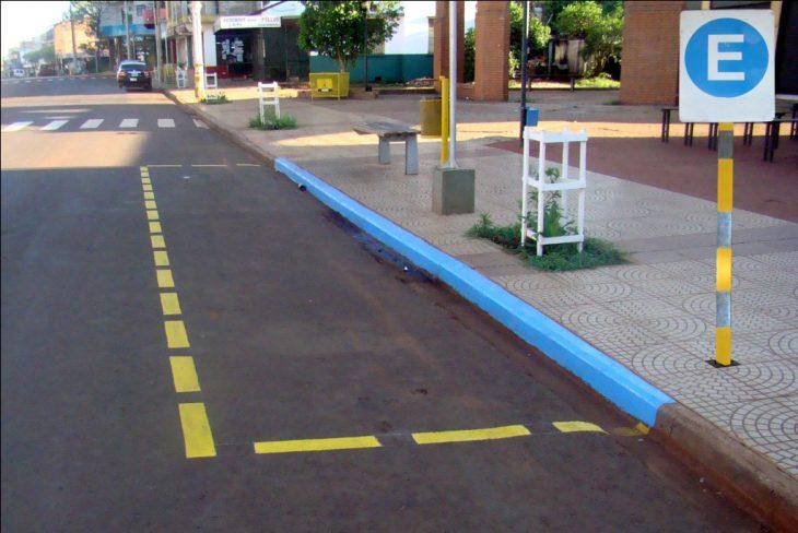estacionamiento exclusivo en calle