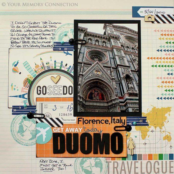 libro de recortes de viaje