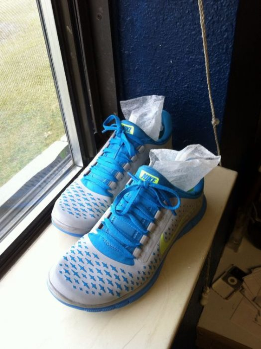 zapatos con toalla antibacterial