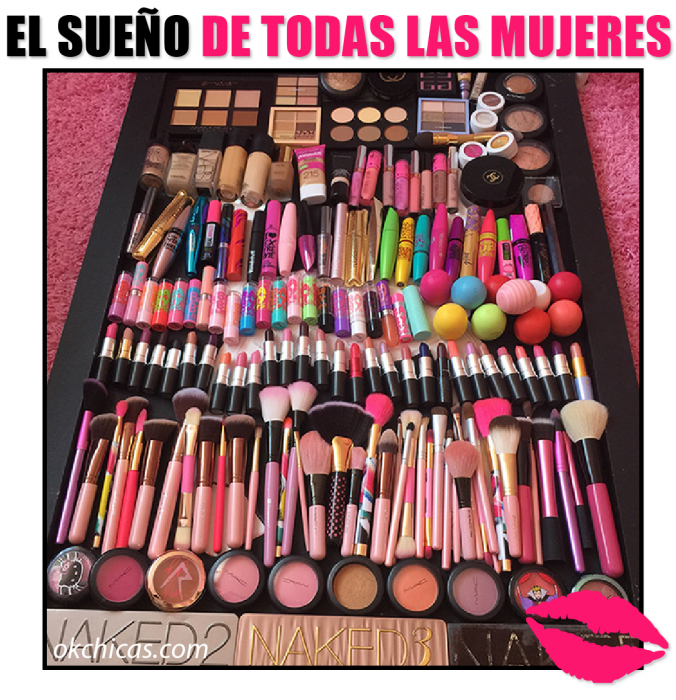 brochas de maquillaje meme ok chicas