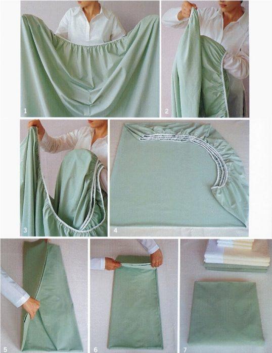 instrucciones para doblar sábana de cajón