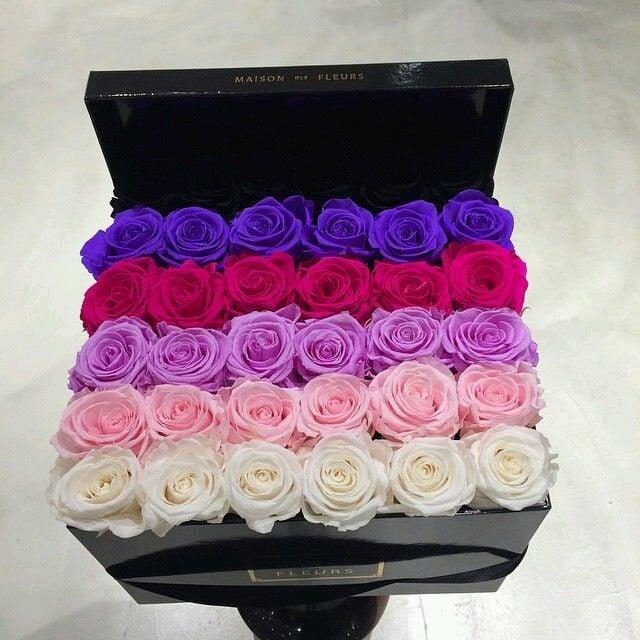 10 rosas en caja que te encantar a recibir de regalo. Black Bedroom Furniture Sets. Home Design Ideas