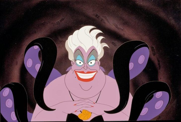 Personaje Ursula de la película la sirenita