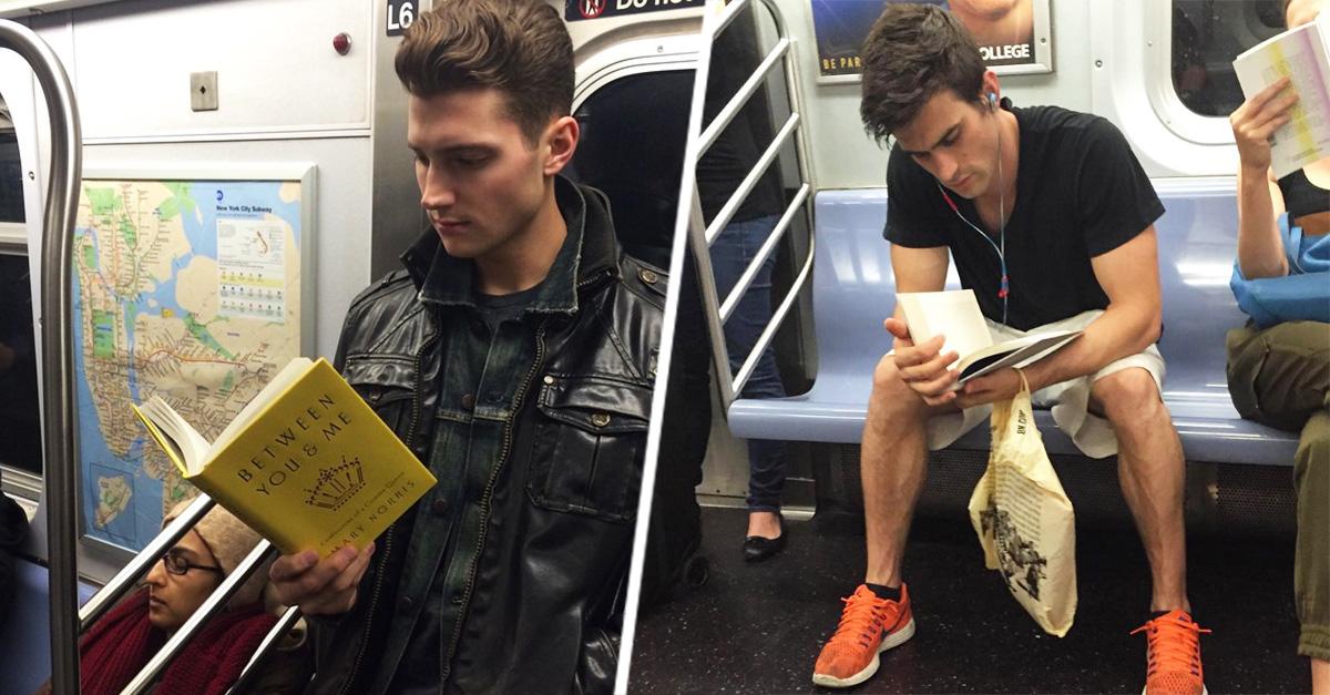 20 guapos hombres leyendo que te gustaría encontrarte todos los días
