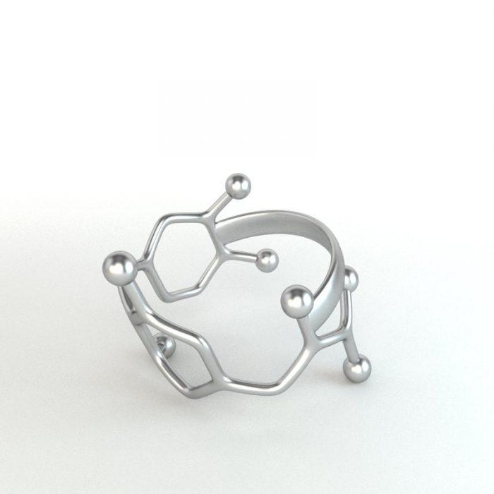 anillo moléculas