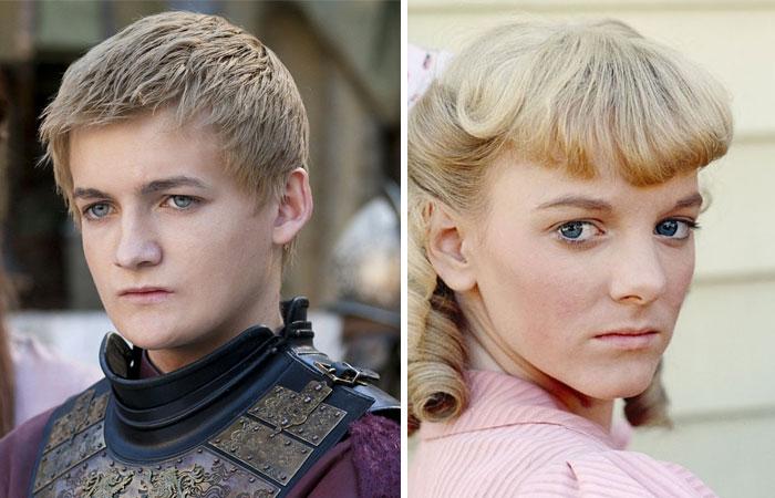 rey Joffrey y Nellie Oleson