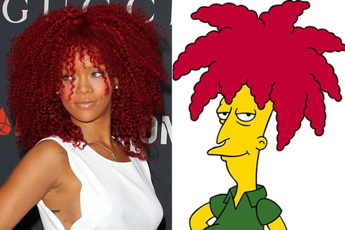Rihanna y Bob Patiño