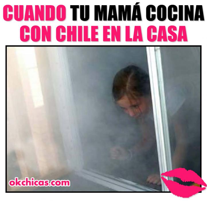 meme cuando mamá cocina chile