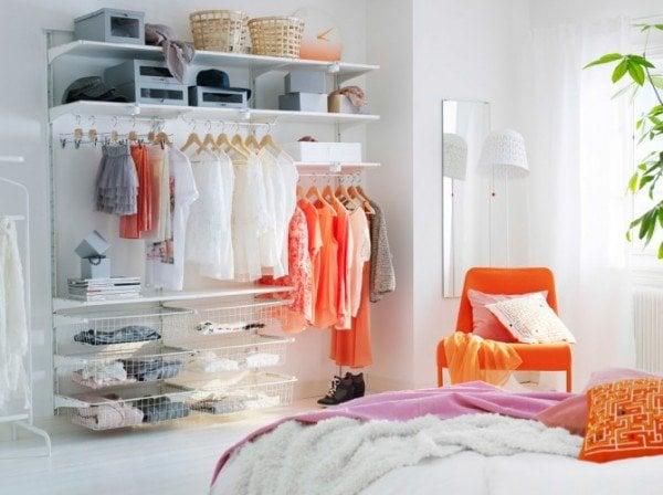 20 soluciones pr cticas para casas y espacios peque os for Closet para espacios pequenos