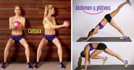 7 ejercicios en 4 semanas que te harán moldear tu cuerpo