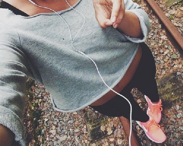 chica corriendo