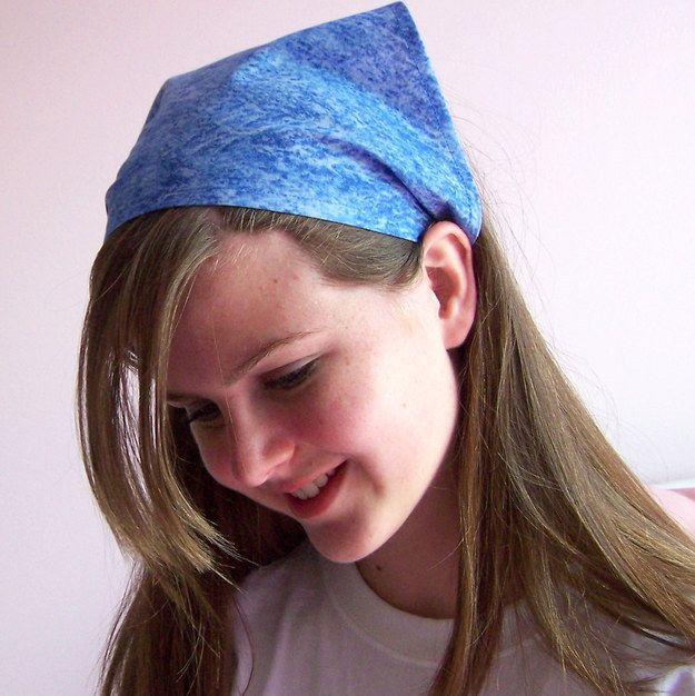 Pañoleta que se usaba en el cabello en los90's