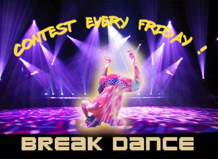 Batalla de photoshop Zac Efron bailando break dance