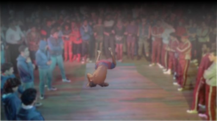 Zac Efron en batalla de baile