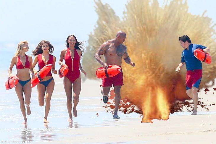 Batalla de photoshop Zac Efron explotando