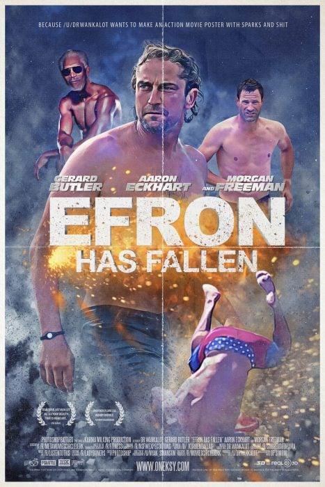 Poster Efron Has fallen