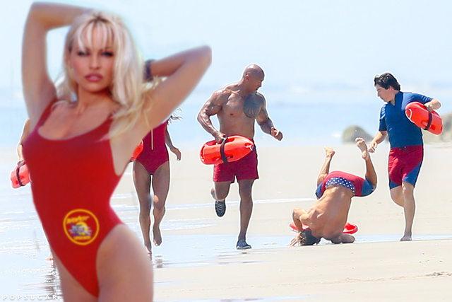 Batalla de photoshop Zac Efron y Pamela Anderson