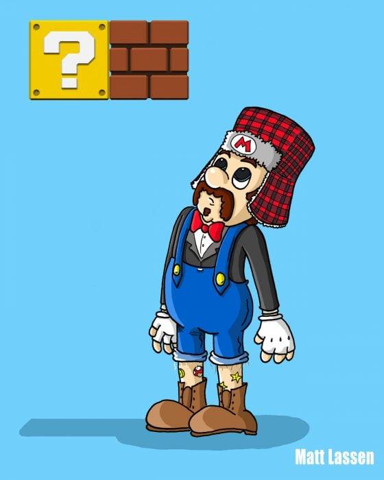 Mario Bros Hipster