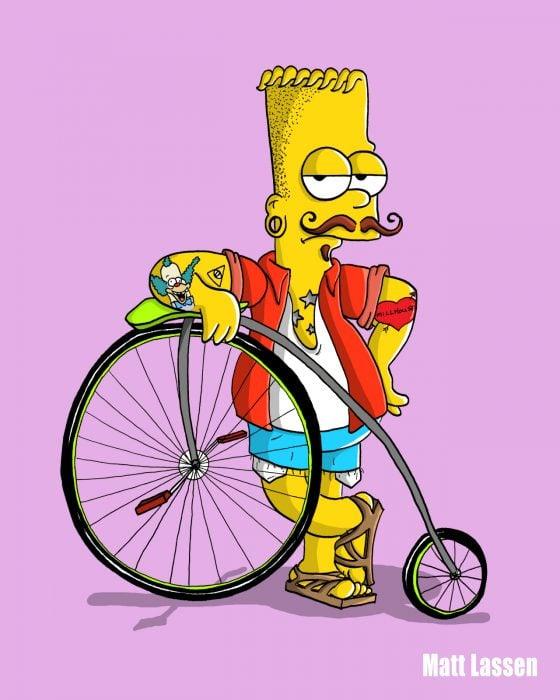 Bart hipster