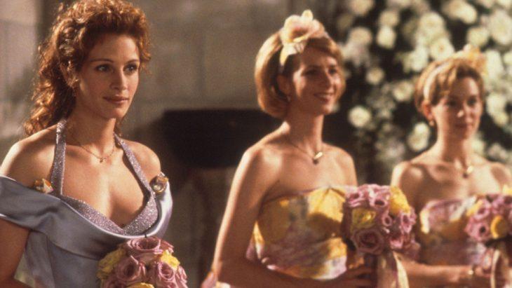 Escena de la película la boda de mi mejor amigo Damas de novia