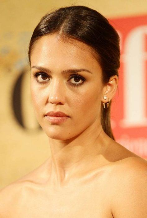 Jessica Alba enojada