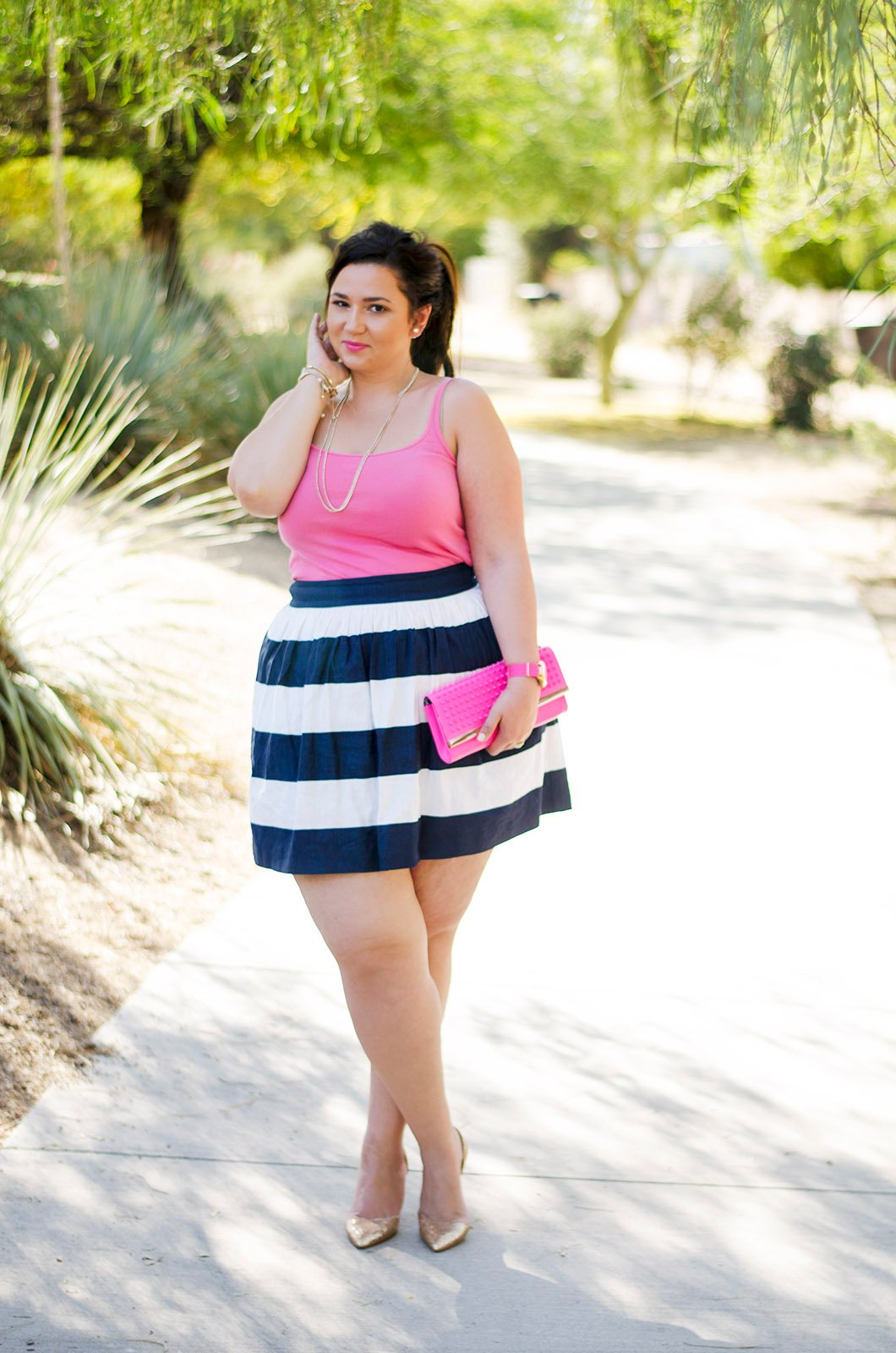 3755b0f95 Ideas para vestirte en primavera si eres una chica gordita