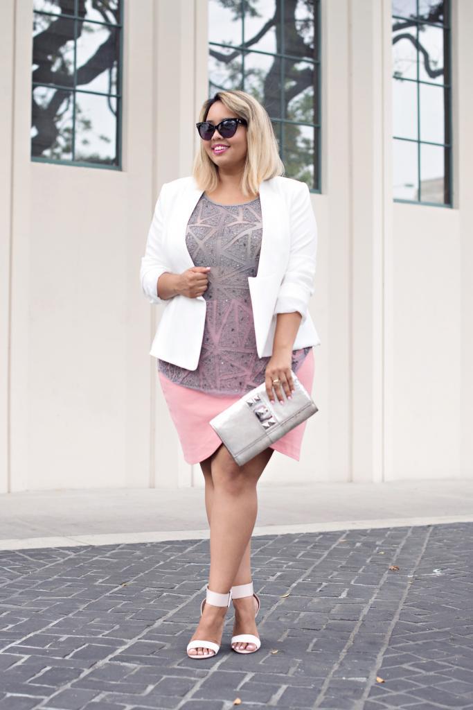 Vestidos blancos para mujeres gorditas