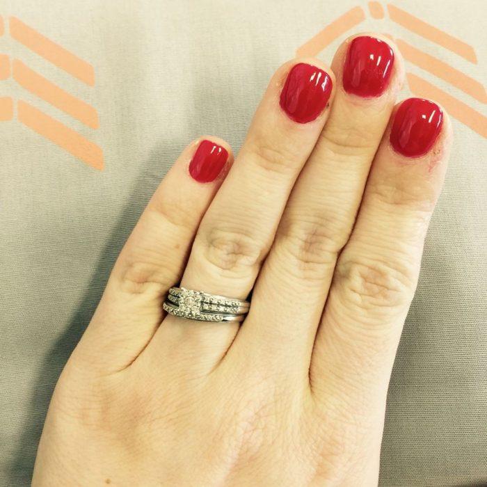 anillo de boda Rachel Pedersen