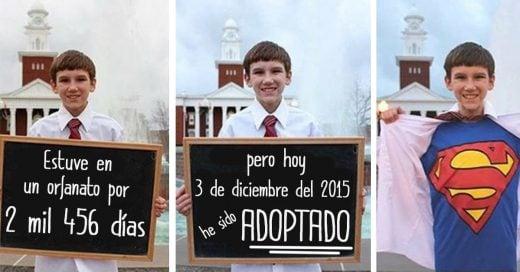 20 Conmovedoras fotos de niños que acaban de ser adoptados que te tocarán el corazón
