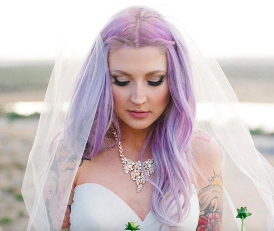 20 Increíbles maneras de pintar tu cabello de colores para lucir
