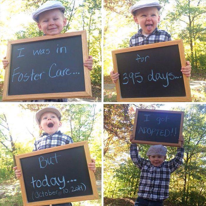Niño que pasó 395 días en un orfanato fue adoptado