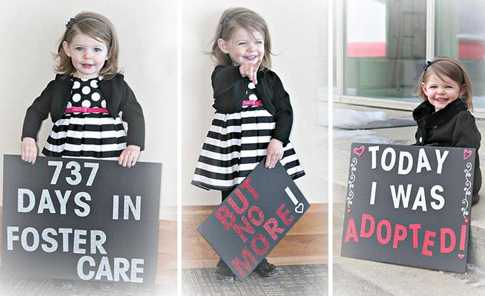Niña que pasó 737 días en un orfanato fue adoptada