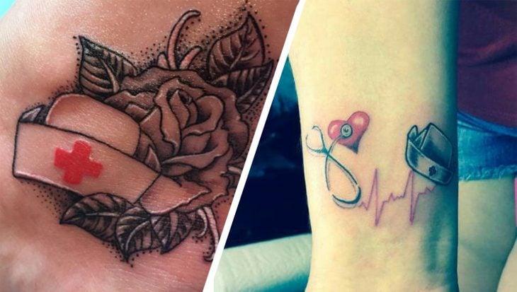 Tatuajes para enfermera