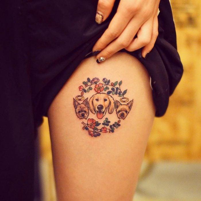 Tatuaje perritos para veterinario