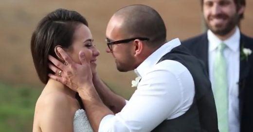 """Salieron por 4 años pero nunca se besaron. El momento en que ella dice """"acepto"""", no tiene precio"""