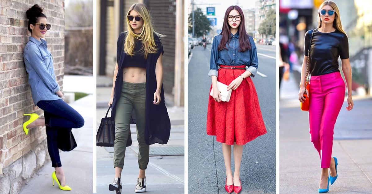 Ideas para combinar colores en tu ropa que debes intentar - Colores de moda ...