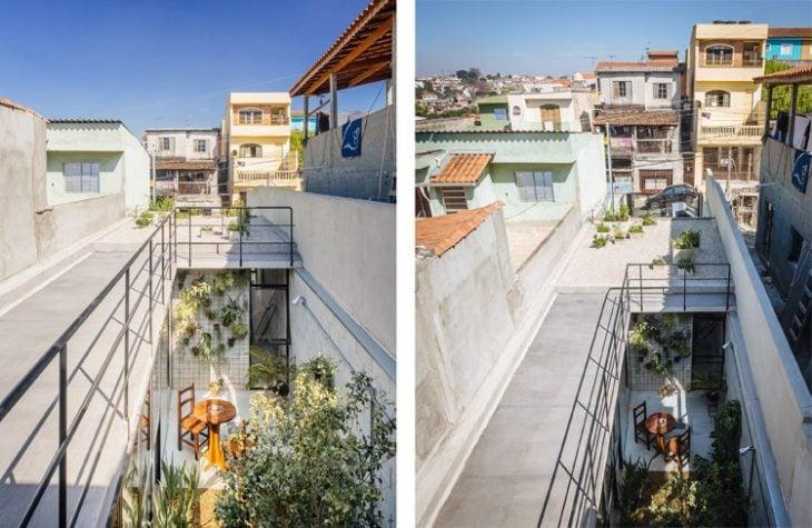 terraza y techo Casa de trabajadora domestica gana premio de arquitectura al edificio del año