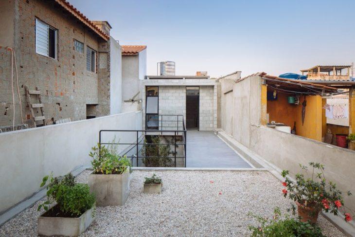 terraza Casa de trabajadora domestica gana premio de arquitectura al edificio del año