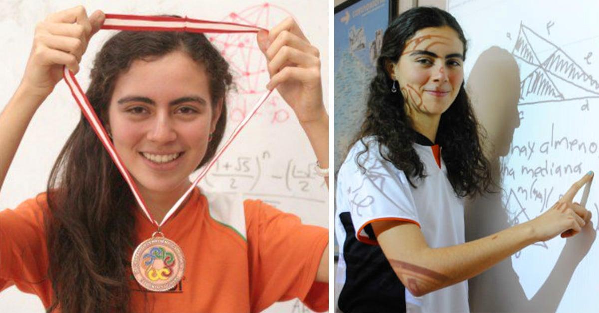 La mexicana Olga Medrano se lleva el oro en olimpiada de matemáticas europea