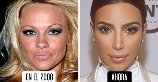 fotografías que prueban que el maquillaje ha cambiado demasiado desde el año 2000