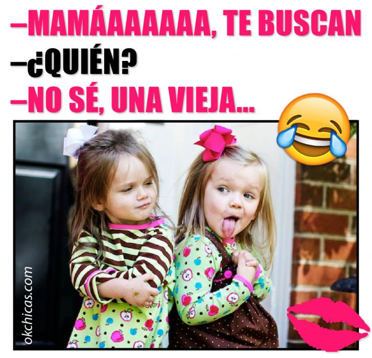 Meme okchicas mamá te buscan