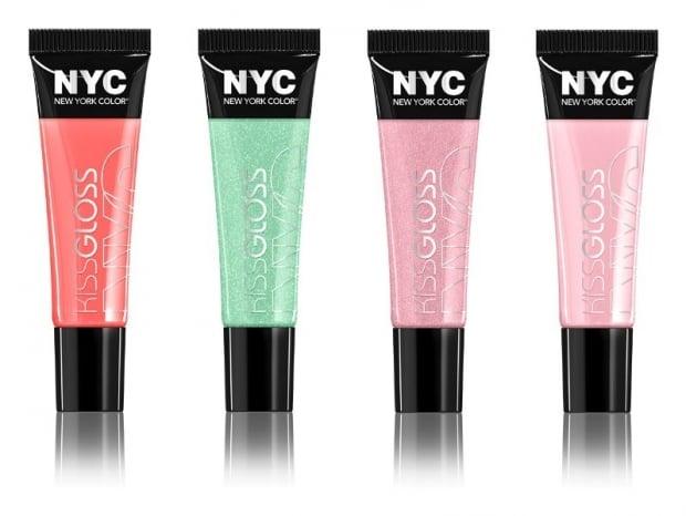 brillos labiales de colores marca nyc