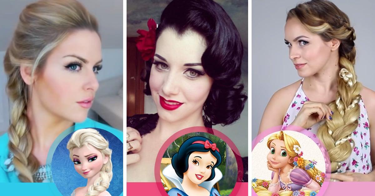 Peinados inspirados en las princesas de Disney