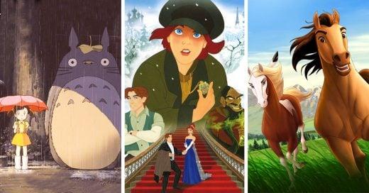 películas animadas obligatorias que NO son de Disney