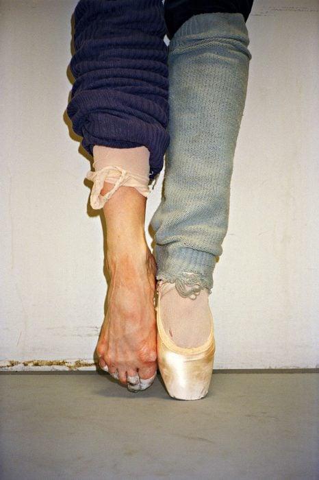 pies de bailarina de ballet