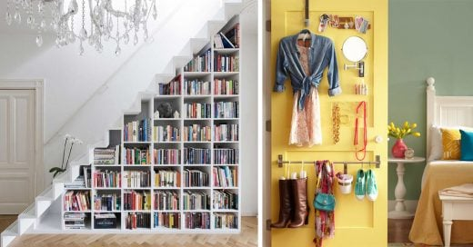 20 incre bles ideas para ahorrar espacio en una habitaci n for Ideas para decorar tu departamento