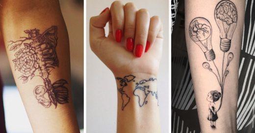 Creativas y originales ideas para hacerte un tatuaje según tu profesión