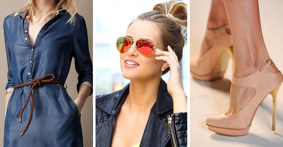 Estas son las 7 formas en las que puedes darle un toque final a tu outfit y lucir radiante.