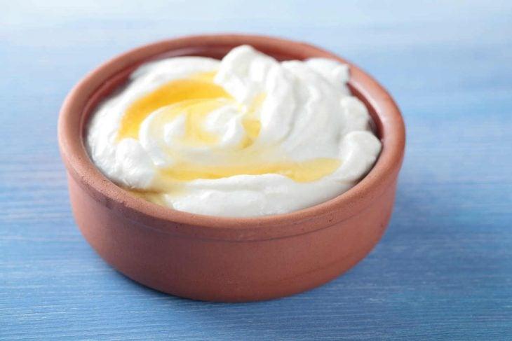 yogur con miel