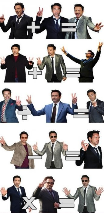 robert downey jr meme matemáticas